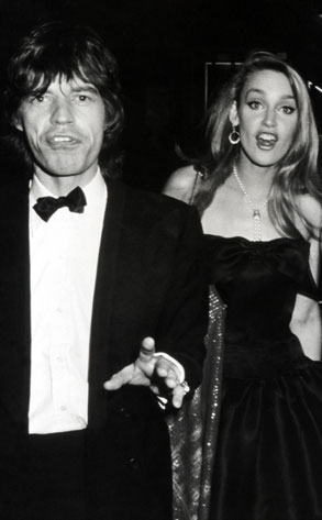Jerry Hall, Mick Jagger