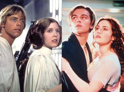 Star Wars, Titanic