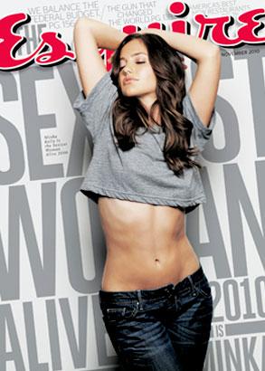 Minka Kelly, Esquire Magazine