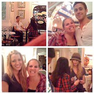 Blake Lively, Ryan Gosling, Fan