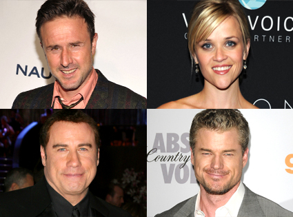 David Arquette, Reese Witherspoon, John Travolta, Eric Dane