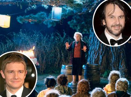 Ian Holm, Lord of the Rings, Peter Jackson, Martin Freeman
