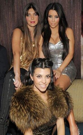 Brittny Gastineau, Kourtney Kardashian, Kim Kardashian
