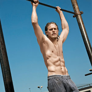 Charlie Hunnam, Men's fitness