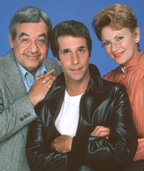 Happy Days, Henry Winkler, Marion Ross, Tom Bosley