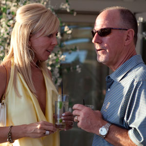 THE REAL HOUSEWIVES OF ORANGE COUNTY, Vicki Gunvalson, Donn Gunvalso