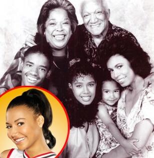 Naya Rivera, Glee, The Royal Family
