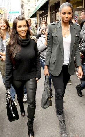 Kim Kardashian, Ciara