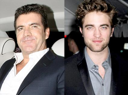 Simon Cowell, Robert Pattinson