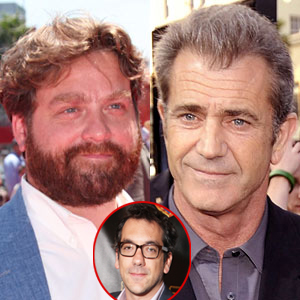 Mel Gibson, Zach Galifianakis, Todd Phillips
