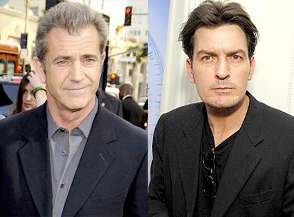 Mel Gibson, Charlie Sheen