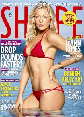 Shape Magazine, LeAnn Rimes