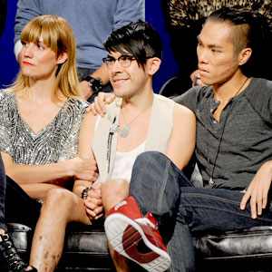 Project Runway Season 8 Final 3, Gretchen Jones, Mondo Guerra, Andy South