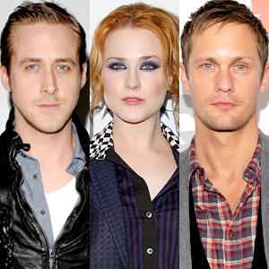 Ryan Gosling, Evan Rachel Wood, Alexander Skarsgard