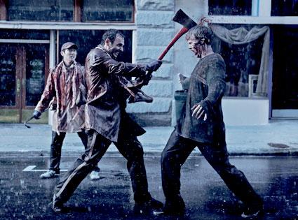 Steven Yeun, Andrew Lincoln, Walking Dead