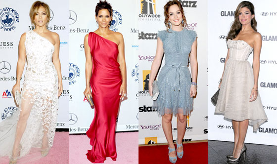 Jennifer Lopez, Halle Berry, Leighton Meester, Eva Mendes
