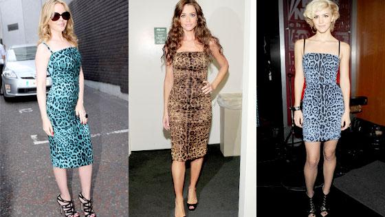 Kylie Minogue, Denise Richards, Katharine McPhee