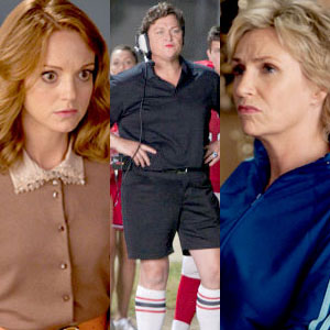 Glee, Jayma Mays, Dot Marie Jones, Jane Lynch