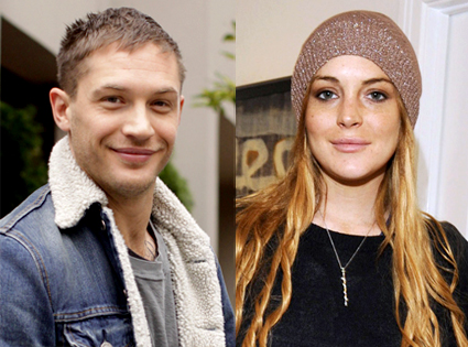 Tom Hardy, Lindsay Lohan