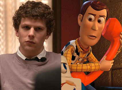The Social Network,  Toy Story 3