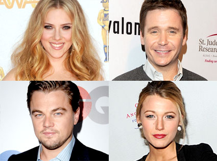 Scarlett Johansson, Kevin Connelly, Leo DiCaprio, Blake Lively
