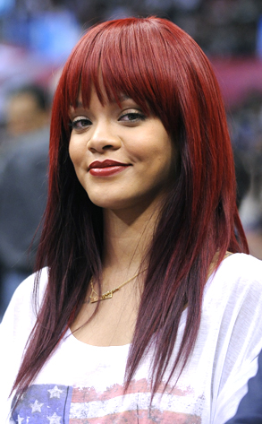 Rihanna\'s New Hairstyle: A Bang-Up Look | E! News