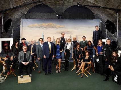 THE CELEBRITY APPRENTICE, Cast