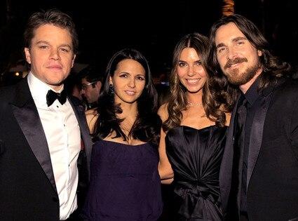 Matt Damon, Luciana Damon, Sibi Bale, Christian Bale