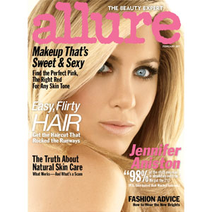Jennifer Aniston, Allure Cover