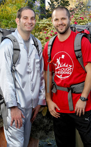 Zev Glassenberg, Justin Kanew, Amazing Race Unfinished Business