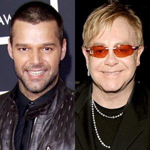 Ricky Martin, Elton John