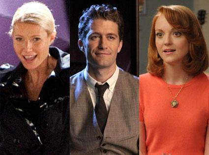 Gwyneth Paltrow, Matthew Morrison, Jayma Mays, Glee