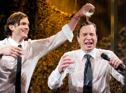 Ashton Kutcher, Jimmy Fallon