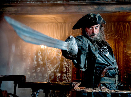 Ian McShane, Pirates of the Caribbean 4: On Stranger Tides