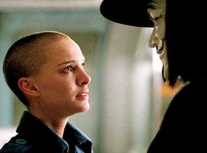Natalie Portman, V for Vendetta