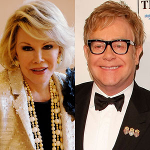 Joan Rivers, Elton John