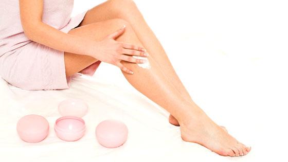 Moisturizing Legs