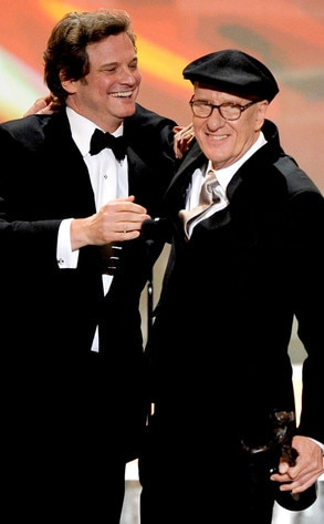 Colin Firth, Geoffrey Rush