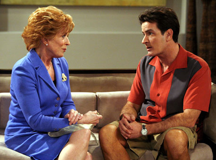 Charlie Sheen, Holland Taylor, Two and a Half Men