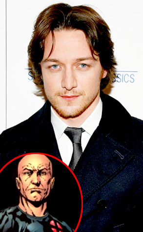 James McAvoy, Professor X