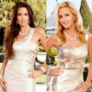 Kyle Richards, Camille Grammer