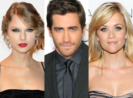 Taylor Swift, Jake Gyllenhaal, Reese Witherspoon
