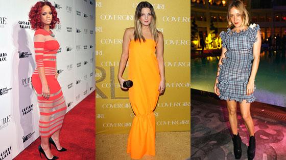 Rihanna, Drew Barrymore, Chloe Sevigny