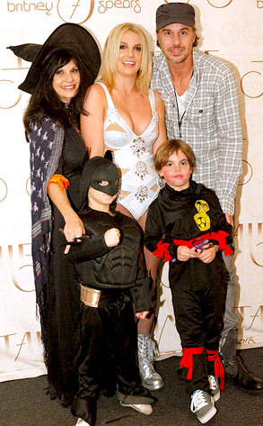 Britney Spears Sean Preston, Jayden James, Jason Trawick, Lynn Spears