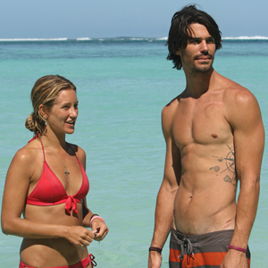 SURVIVOR SOUTH PACIFIC, Whitney Duncan, Keith Tollefson