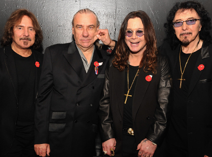 Black Sabbath, Geezer Butler, Bill Ward, Ozzy Osbourne,Tony Iommi