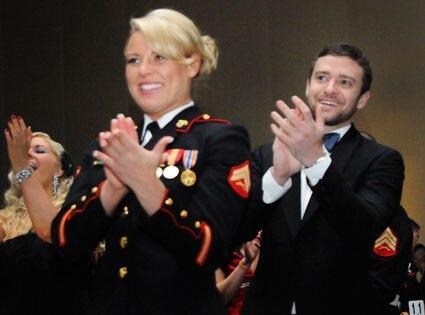 Justin Timberlake, Corporal Kelsey DeSantis