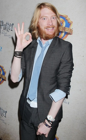 Domhnall Gleeson, Harry Potter and the Deathly Hallows: Part 2 Celebration