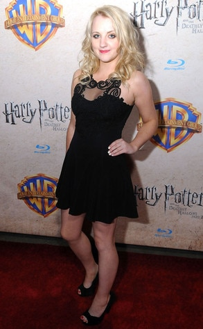 Evanna Lynch, Harry Potter and the Deathly Hallows: Part 2 Celebration