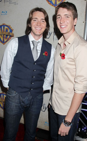 James Phelps, Oliver Phelps, Harry Potter and the Deathly Hallows: Part 2 Celebration